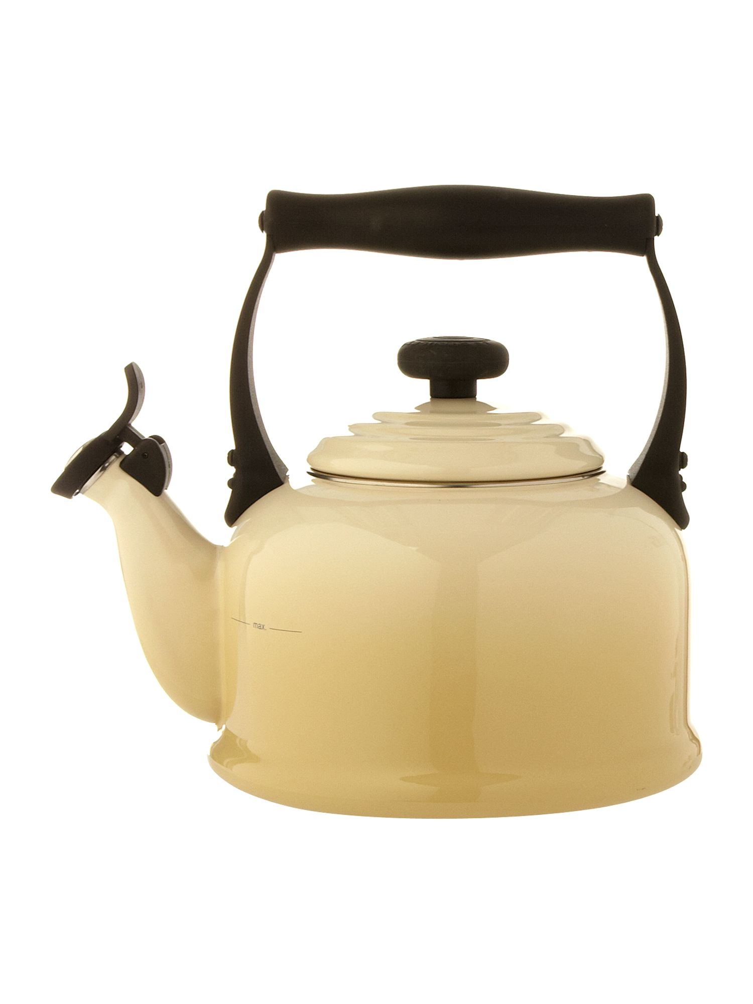 Almond traditional stove whistle kettle
