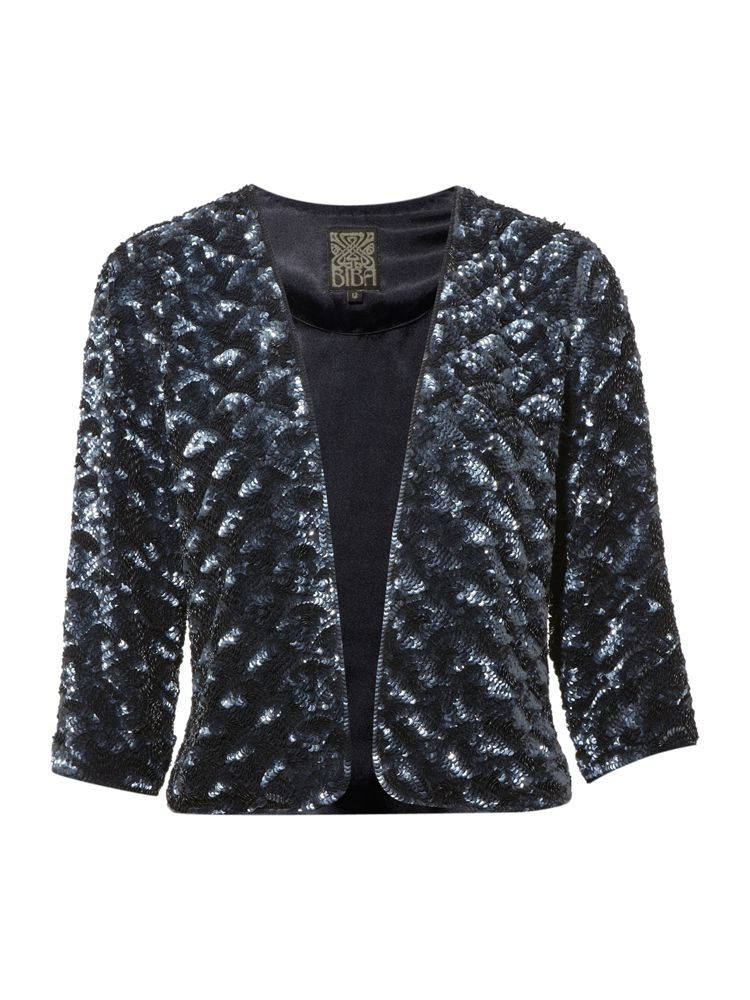 Biba-Sequin-Evening-Jacket-In-Indigo
