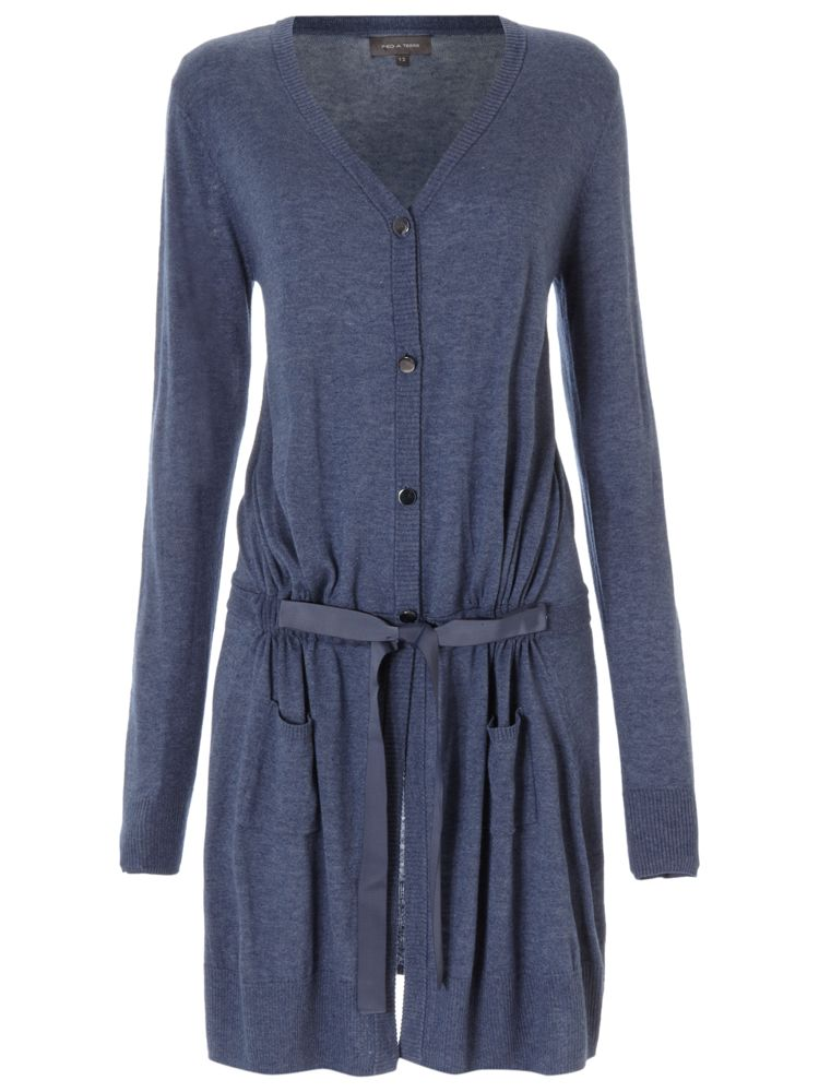Pied-a-Terre-Long-Line-Belted-Cardigan-In-Indigo