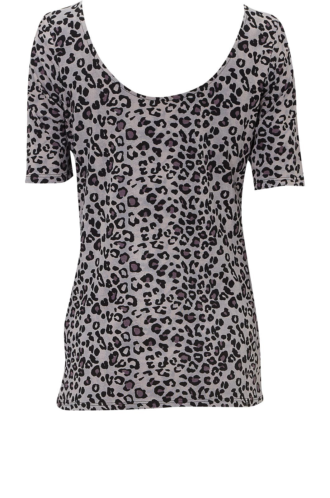Animal print ballet top Multi-Coloured