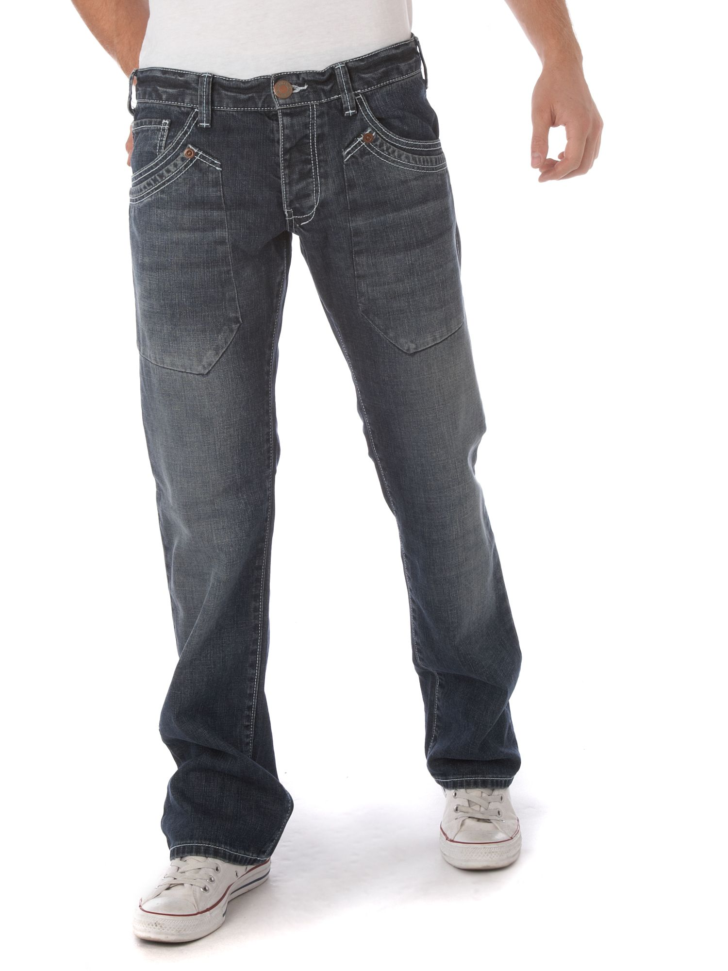 Armani Jeans Faded wash jeans Denim - review compare prices buy online