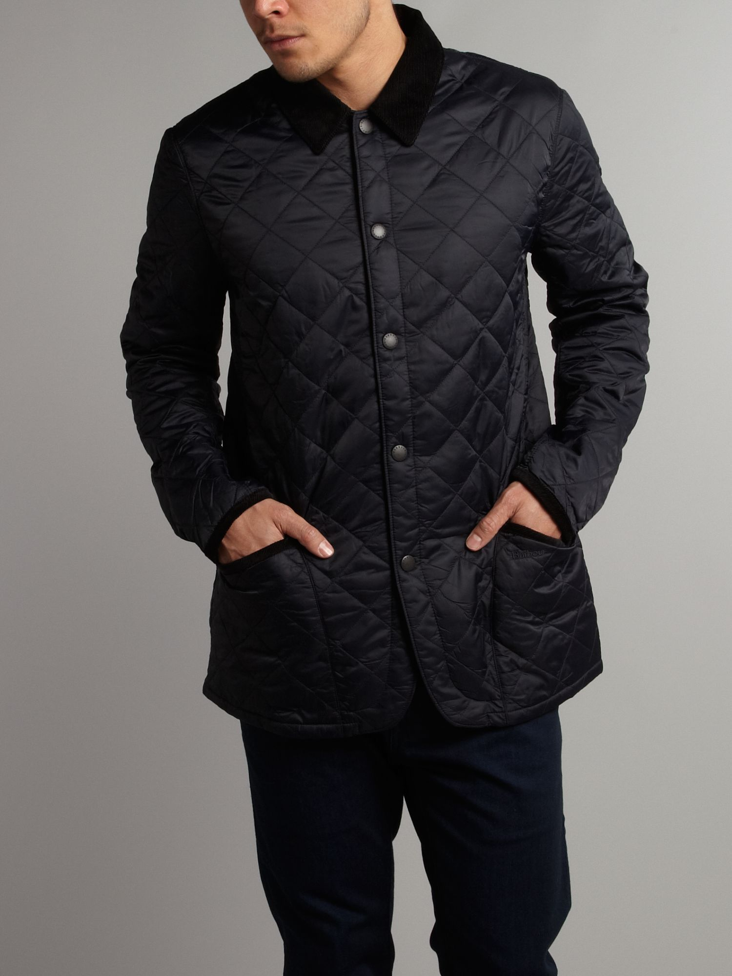 Conway tailored quilted padded jacket