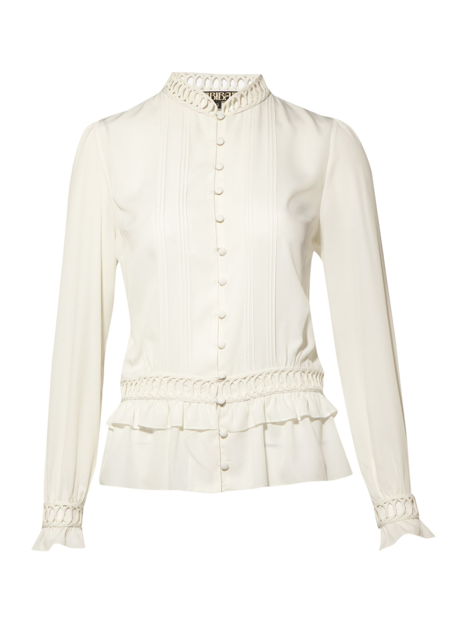 Peplum blouse - Off White 12,12,12,12