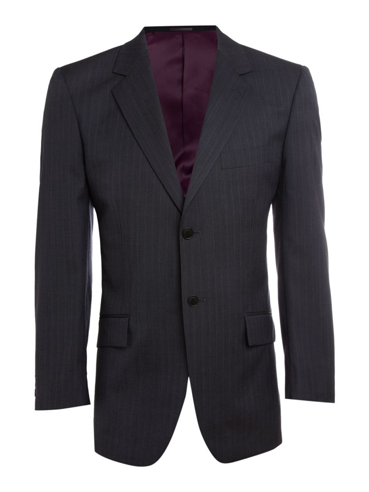 Howick-Tailored-Tonal-Stripe-Formal-Jacket-In-Navy