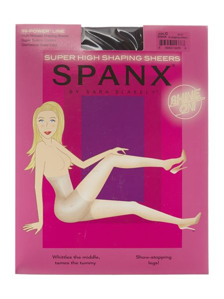 Spanx Super high shaping sheers