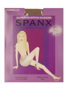 Spanx Super shaping sheers