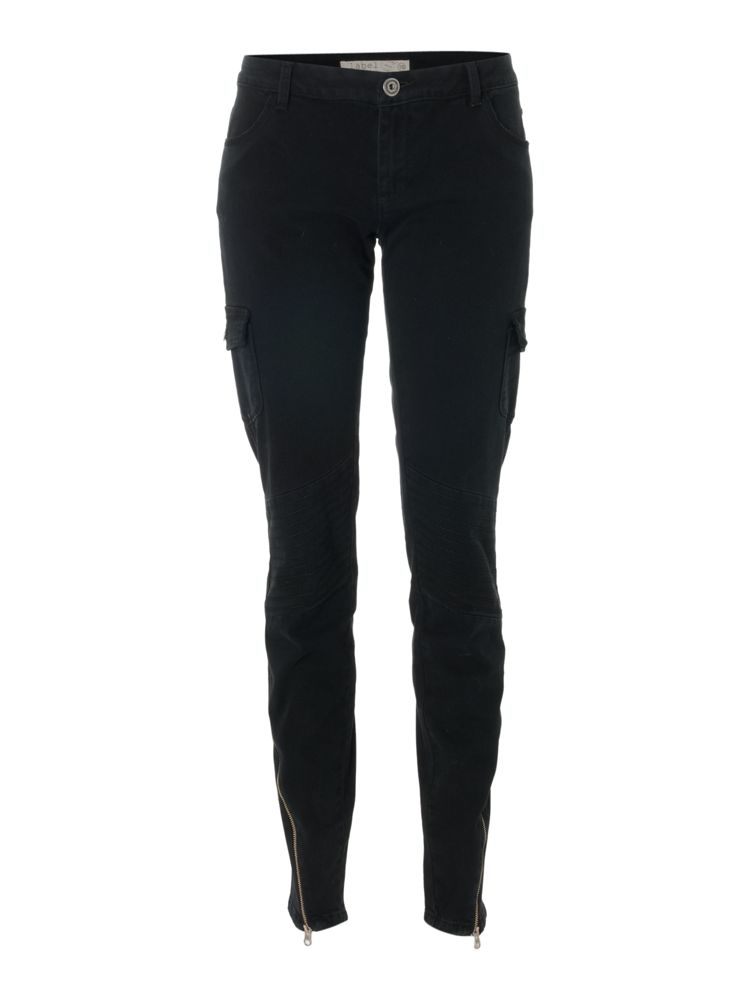 Label-Lab-Skinny-Biker-Jeans-In-Nearly-Black
