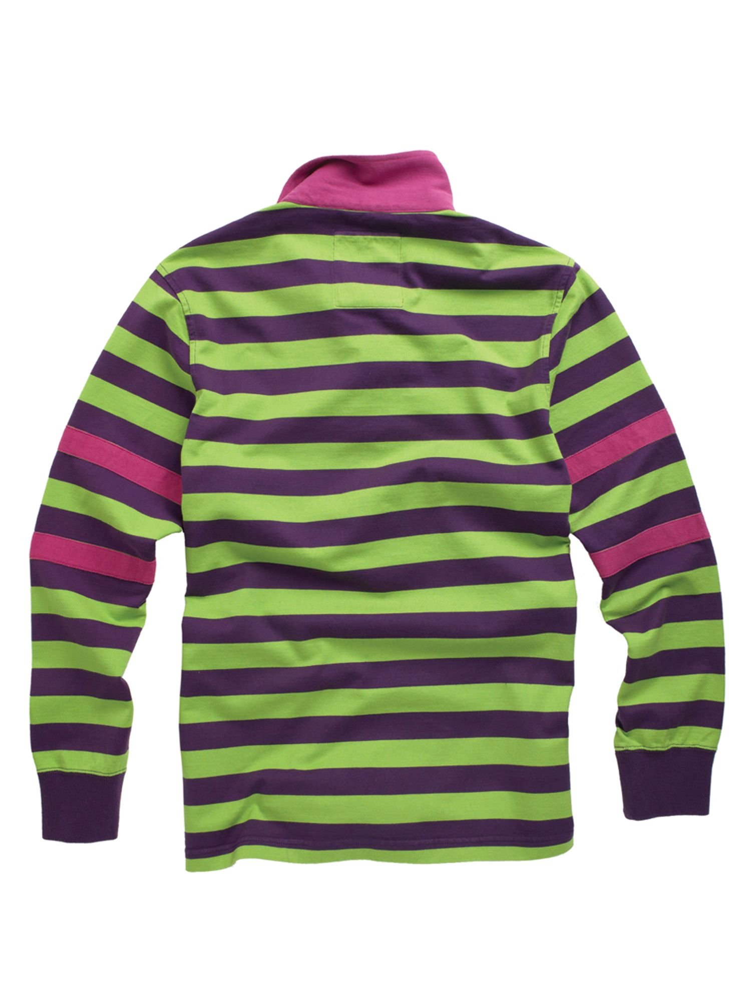 Racing green t shirts for Pink and purple striped rugby shirt