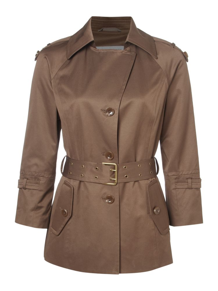 Andrew-Marc-Chrystie-Crop-Sleeve-Belted-Mac-In-Bronze-From-House-of-Fraser