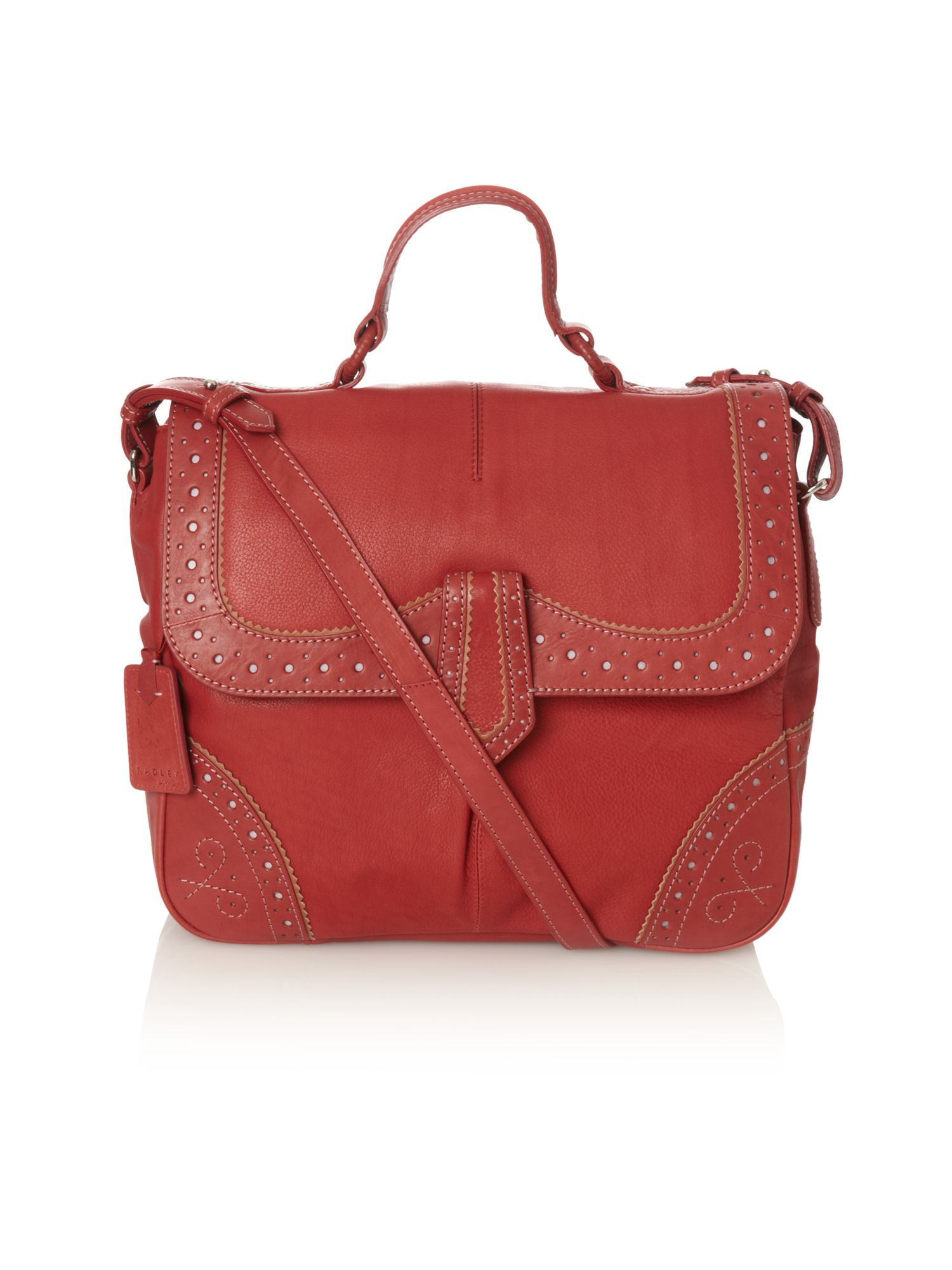 Ramsey large flap over satchel