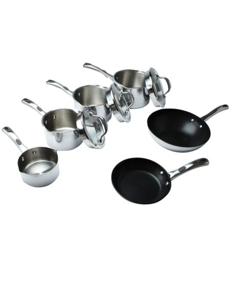 Select Stainless steel 6 piece pan set