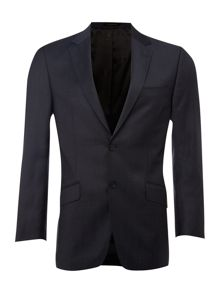 Single breasted peak lapel 2 tone jacket