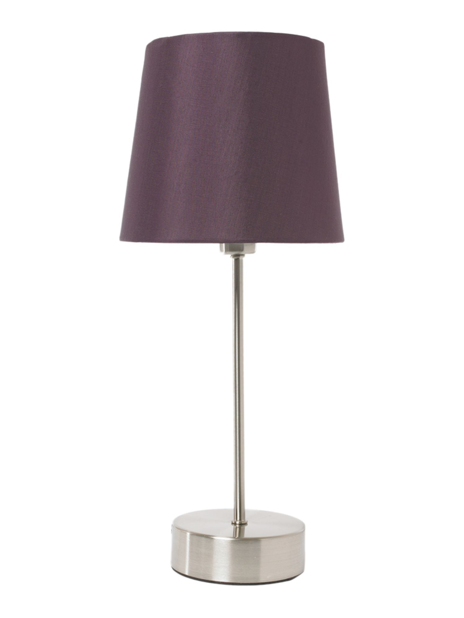 Linea Zoe Plum Touch Table Lamp Review Compare Prices