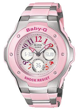 G-ms Baby-G Ladies Pink Tone Watch