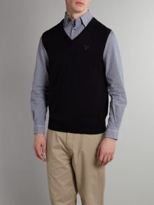 Gant V-Neck Sleeveless Jumper