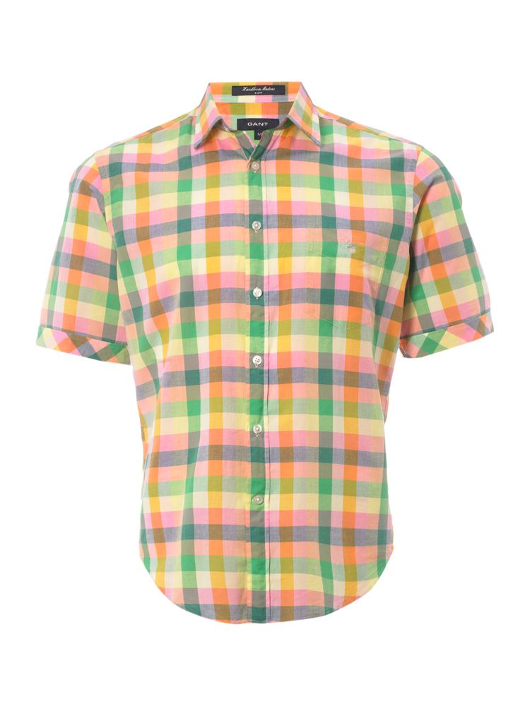 Gant-Small-Collar-Madras-Check-Shirt-In-Multi-Coloured