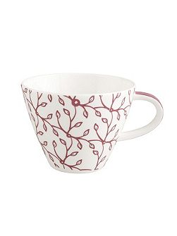 Caffe club floral berry coffee cup 0,22l