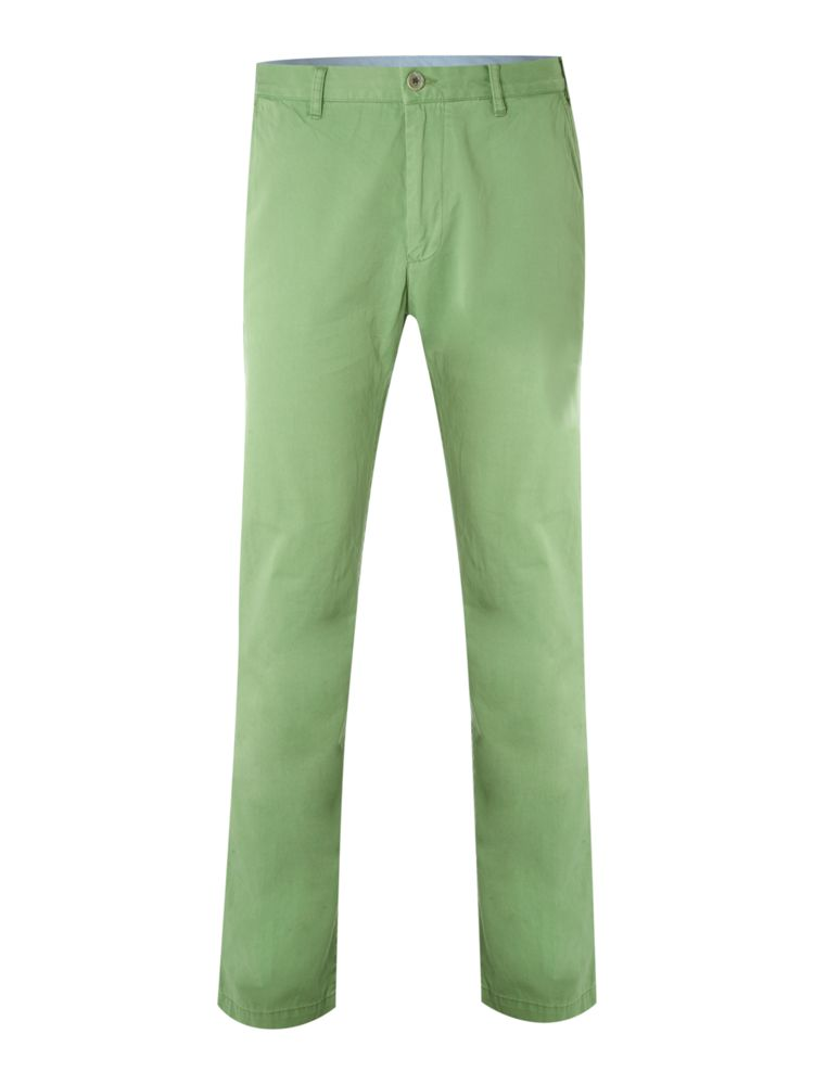 Gant-Flat-Front-Super-Chino-In-Green