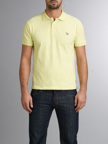 Paul Smith Jeans Zebra logo regular fit polo