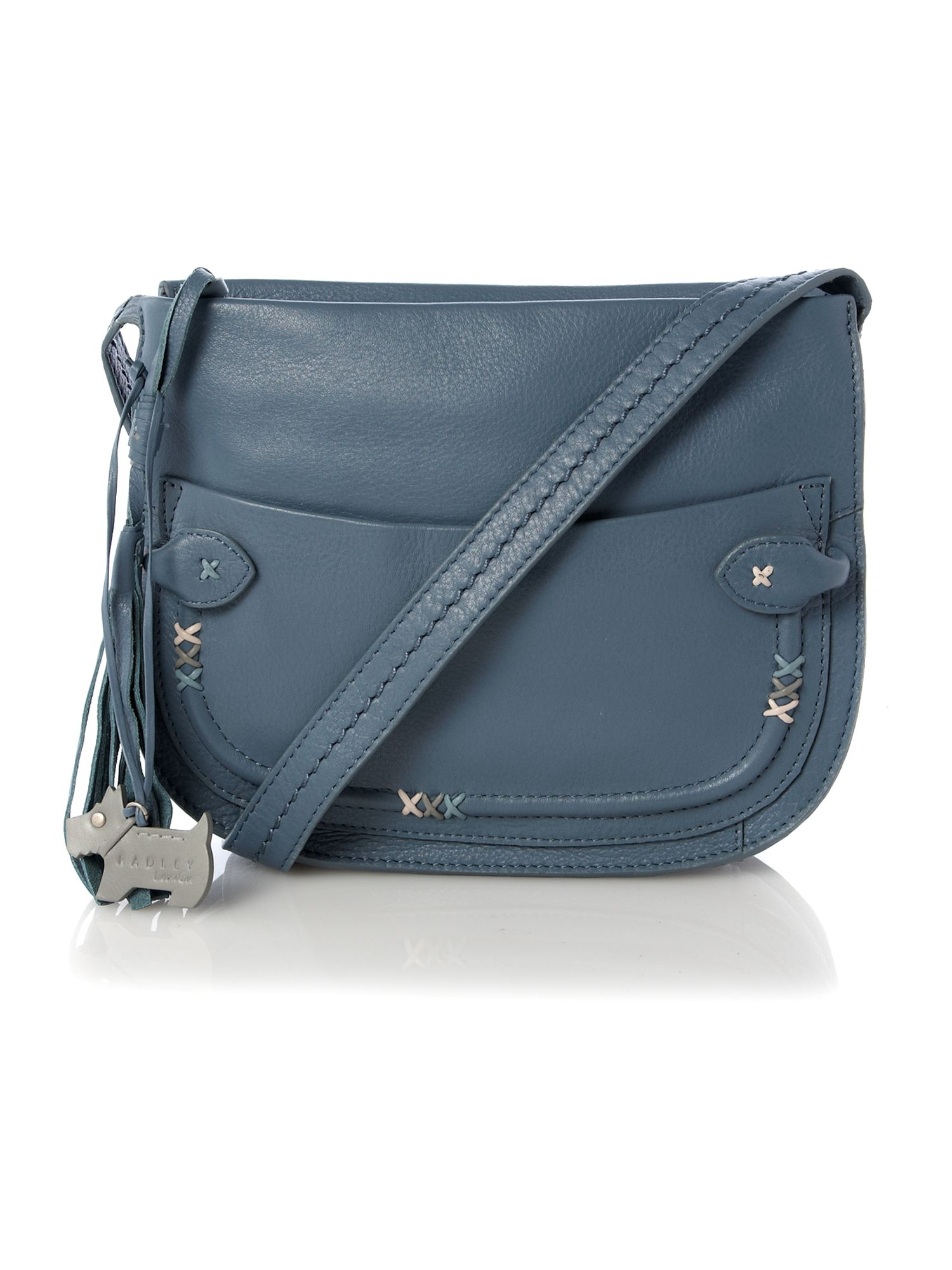 Southfields zip top crossbody bag