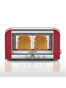Magimix red vision toaster