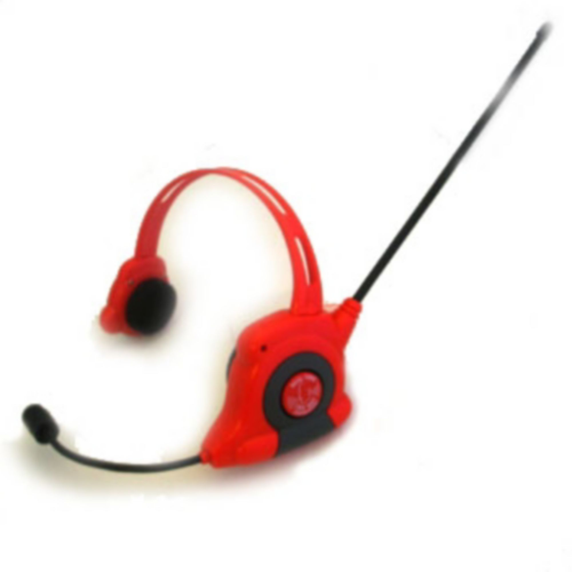 Walkie talkie headset