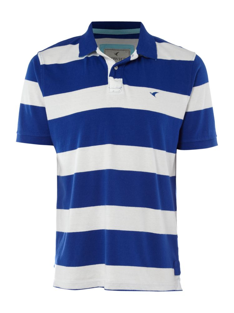 Howick-Short-Sleeve-Powell-Jersey-Stripe-Polo-Shirt