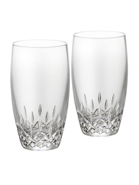 Waterford Lismore essence hi-ball tumbler set of 2
