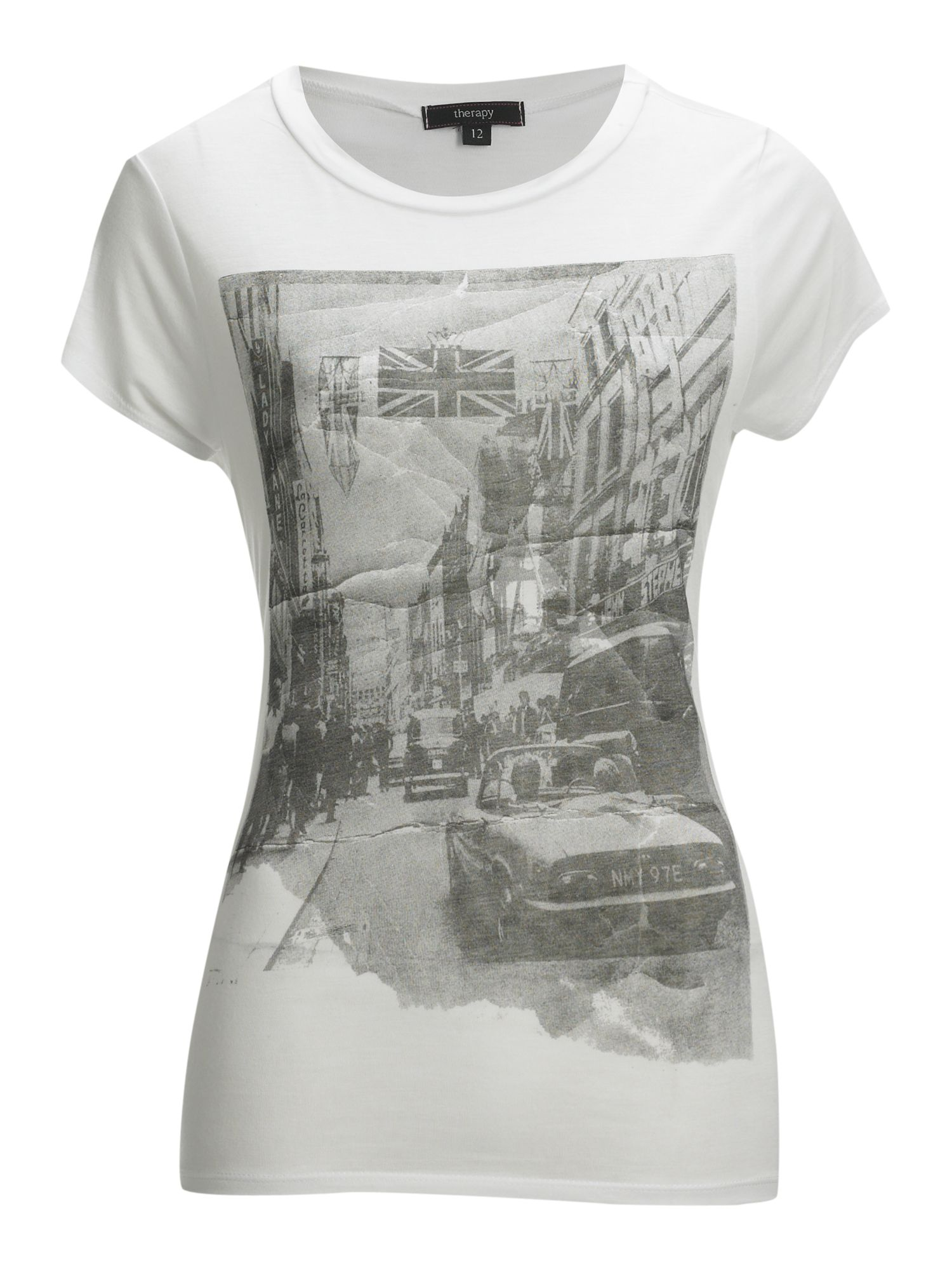 Therapy Carnaby print t-shirt - White 12,12,8,8 product image