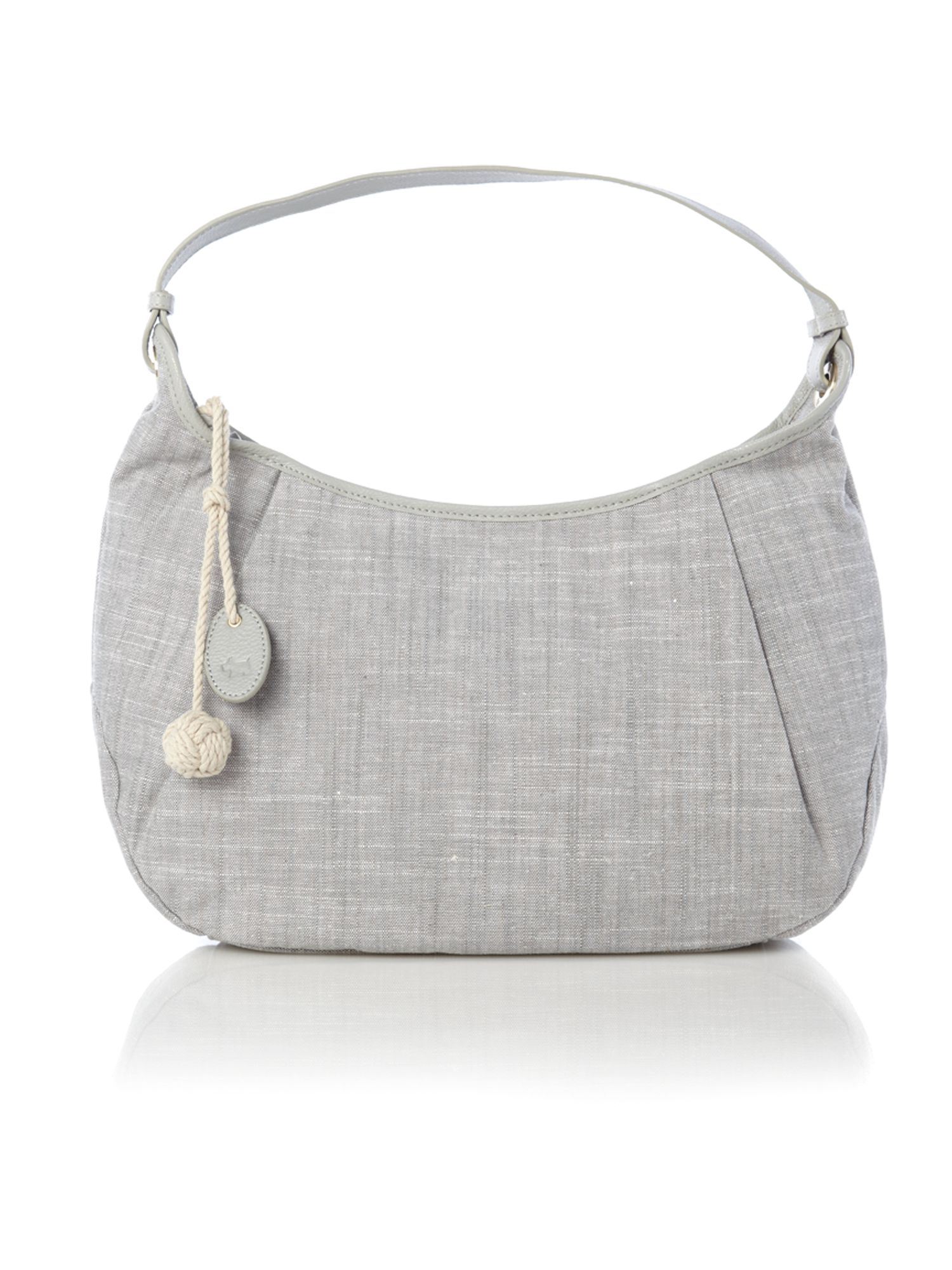 Wanstead canvas hobo bag