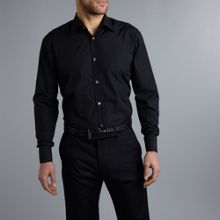 Howick Tailored Luxury poplin double cuff formal shirt