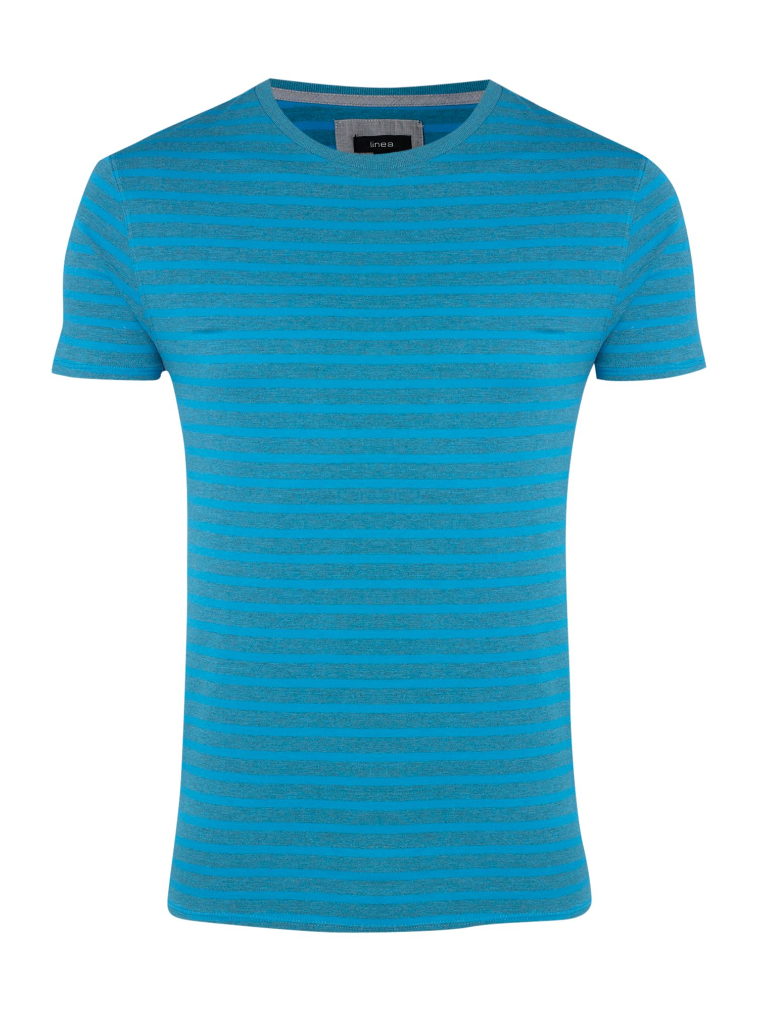 Linea Striped marl crew neck T-shirt - Tropical product image