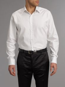 Fine twill formal shirt