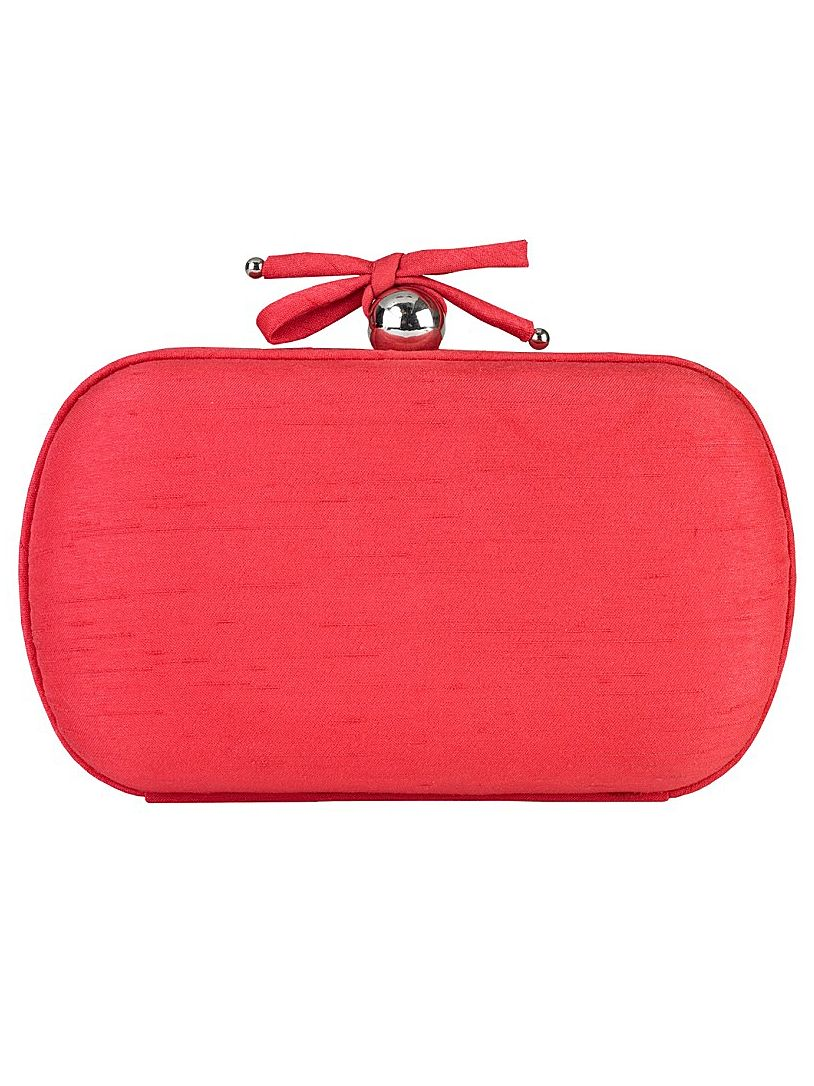 Jacques Vert Geranium box frame clutch bag Red product image