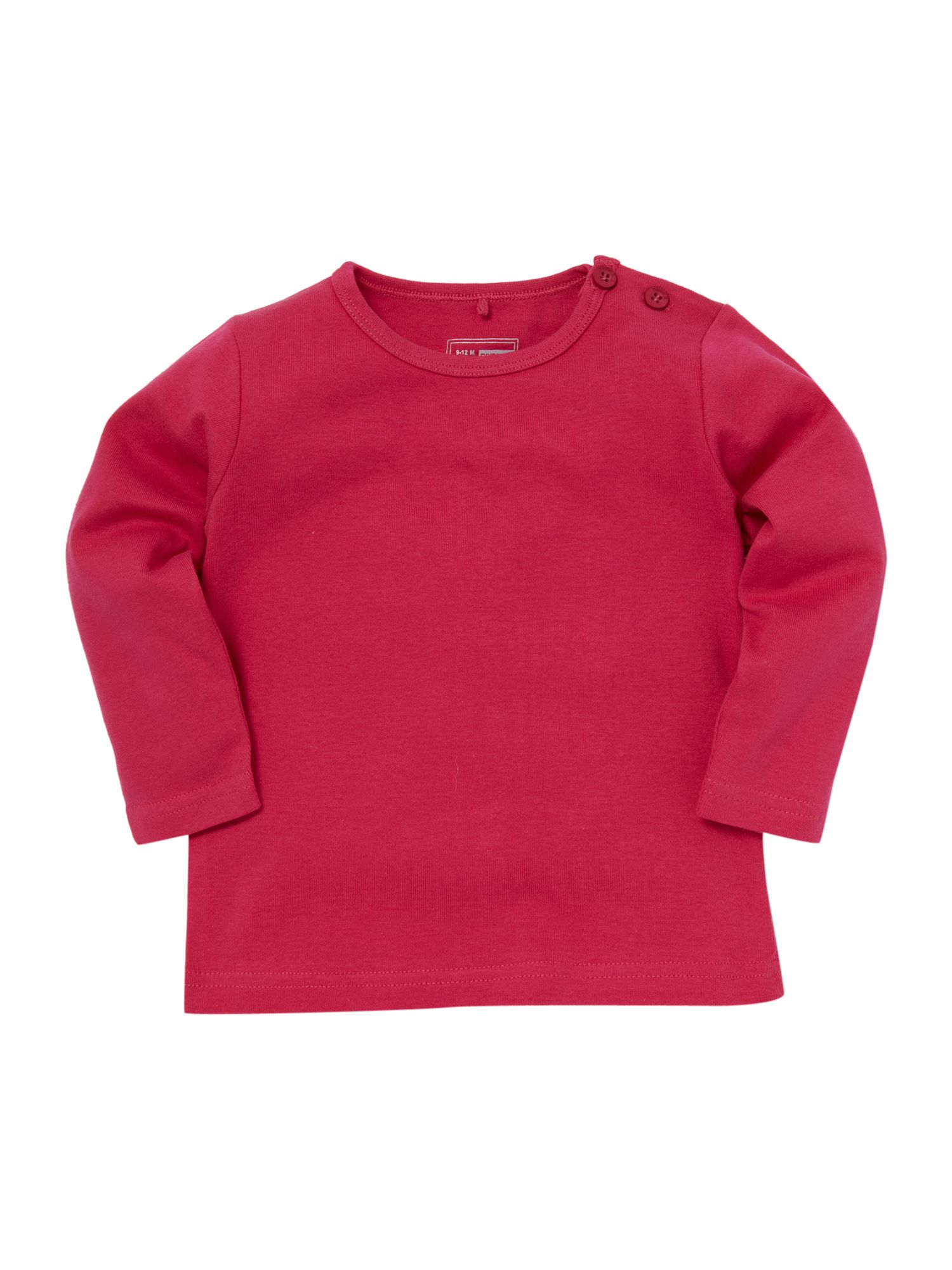 name it Long-sleeved plain T-shirt - Lilac `12 mths,18 product image