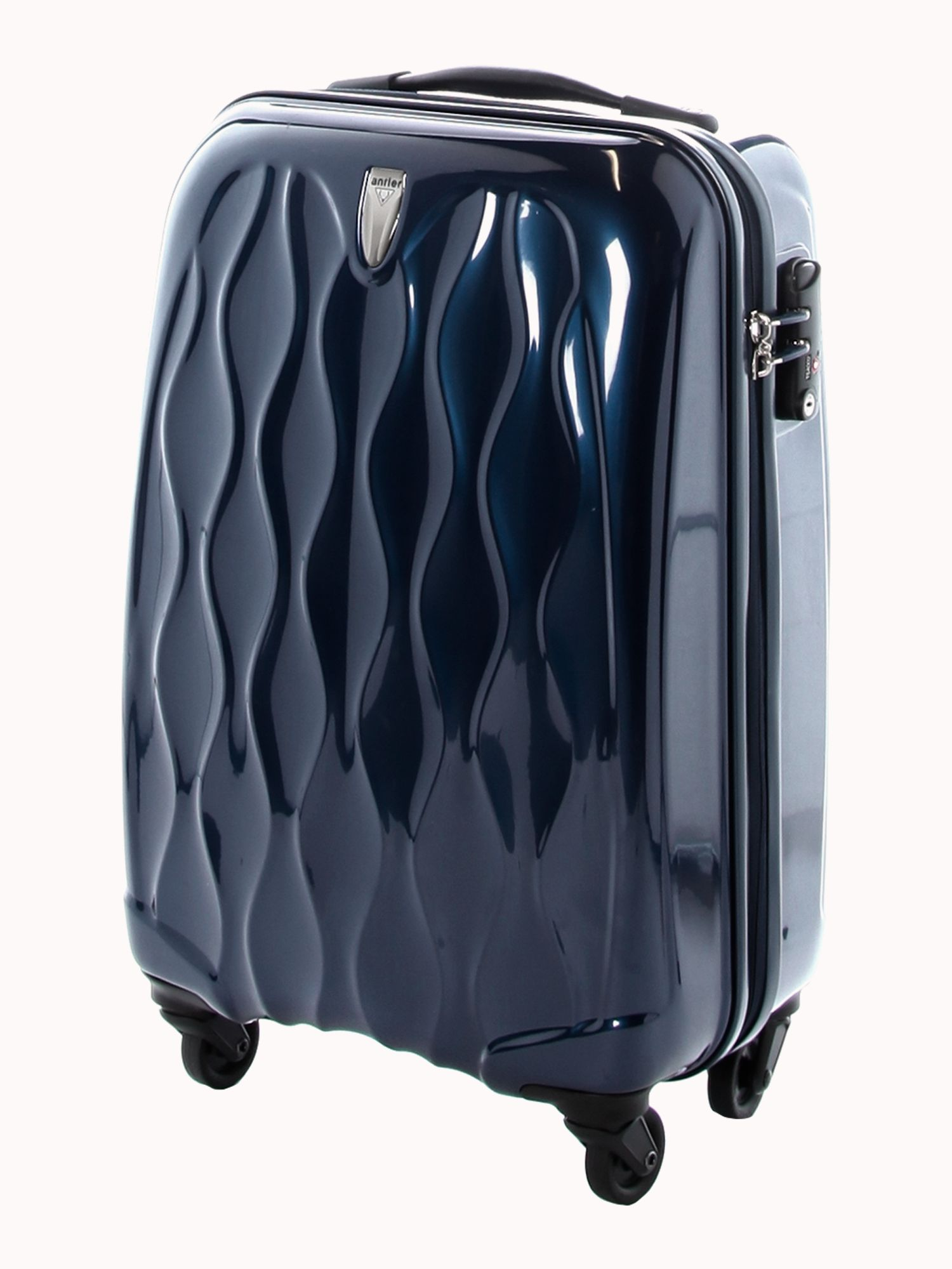 Liquis Navy 56cm 4 Wheel Case