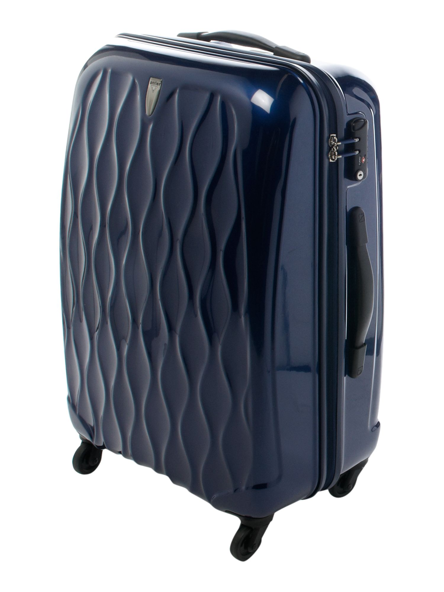 Liquis Navy Medium 4 Wheel Case
