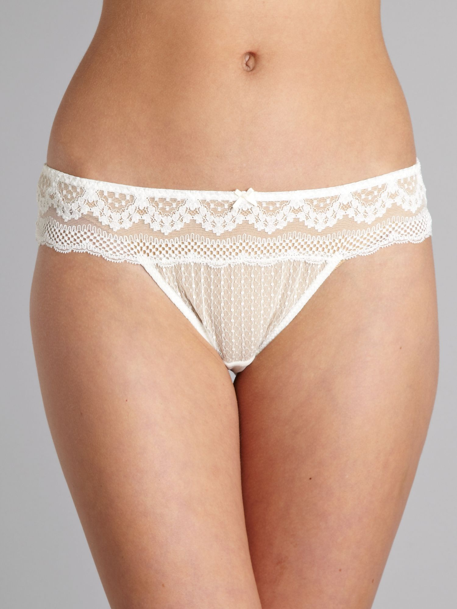 City Chic Lace Tanga