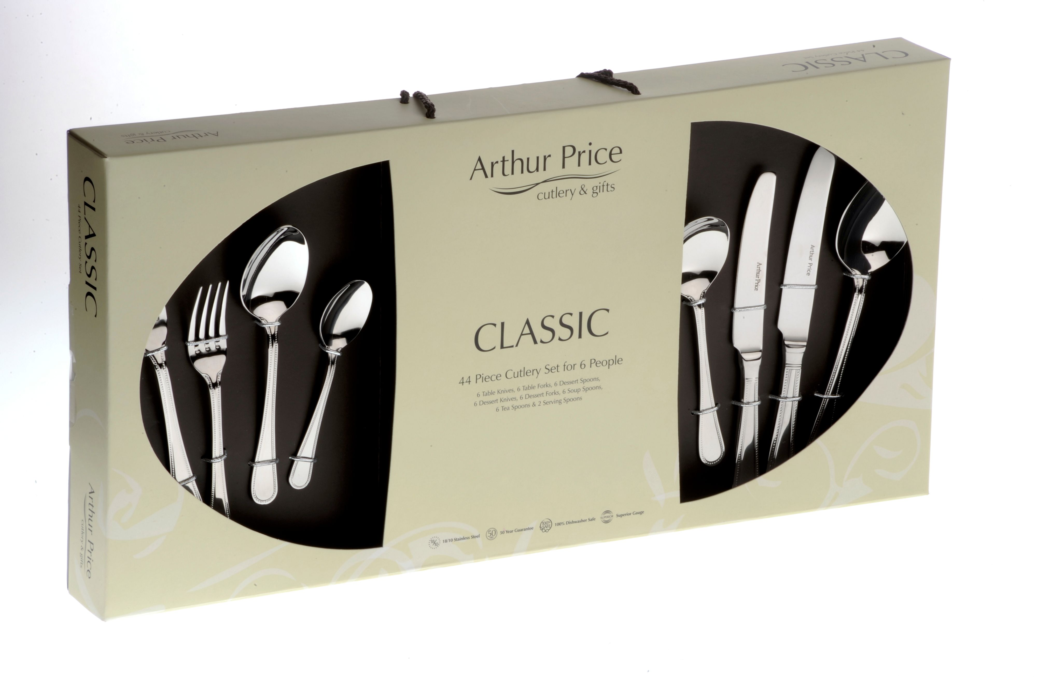 Bead 44 Piece cutlery box