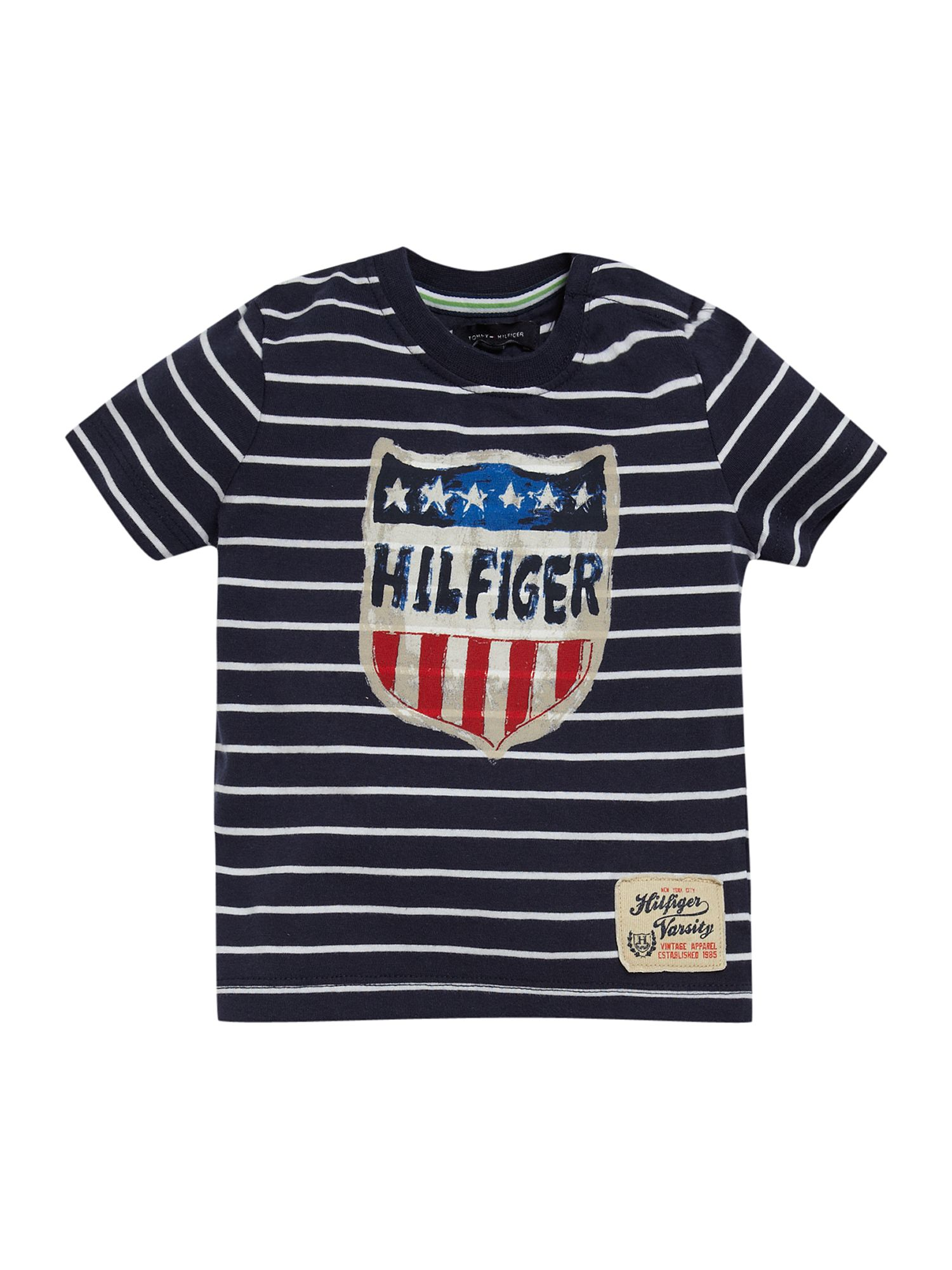 Tommy Hilfiger Carlo short-sleeved T-shirt Navy product image
