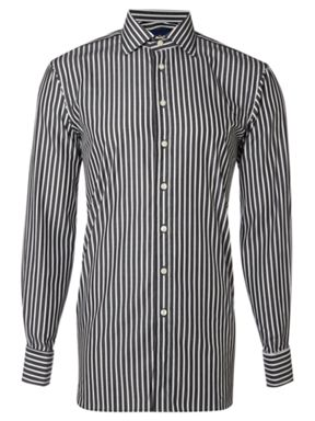 Chester by Chester Barrie Stitch stripe long sleeved shirt