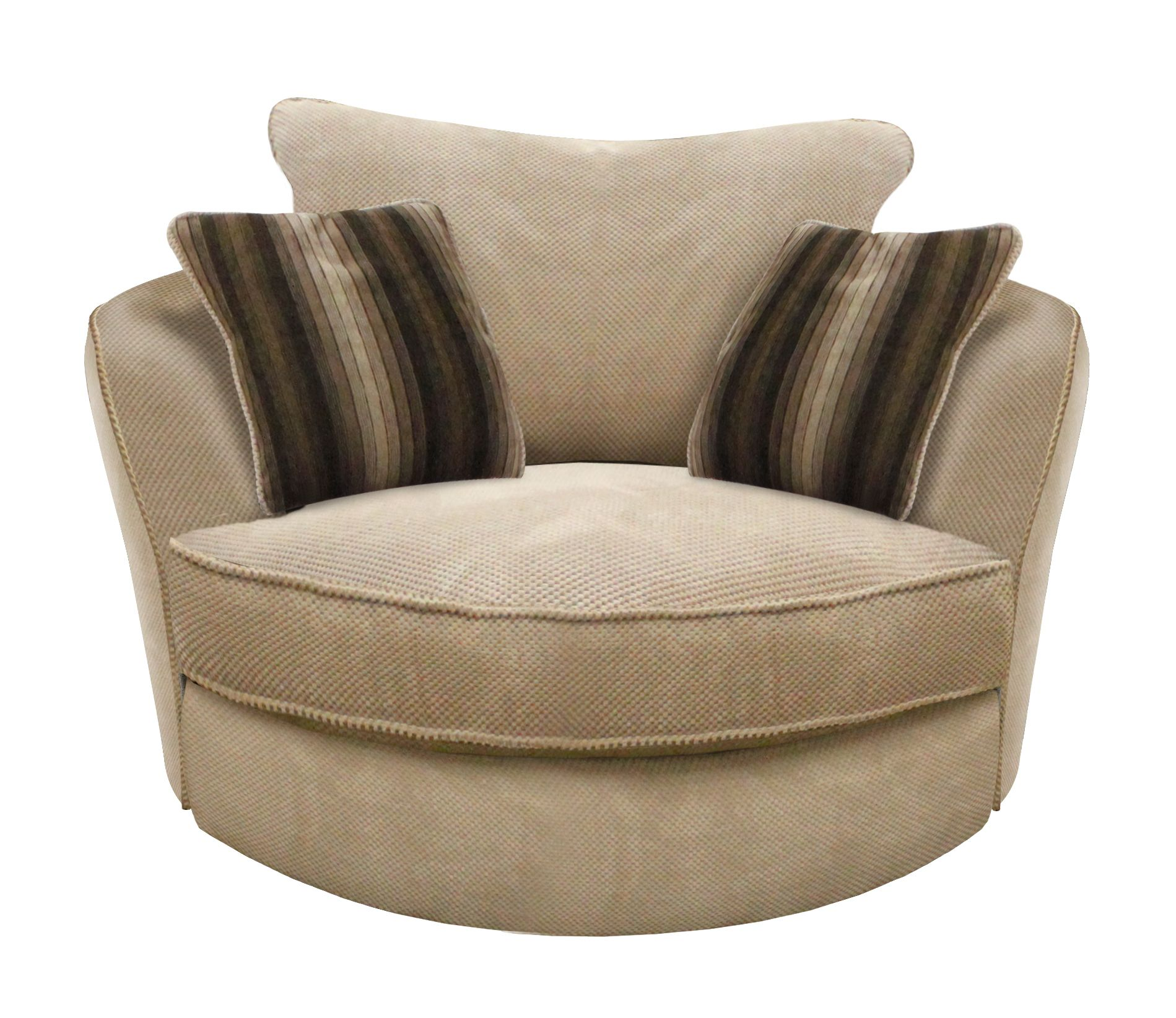 Linea Montana swivel snuggler chair