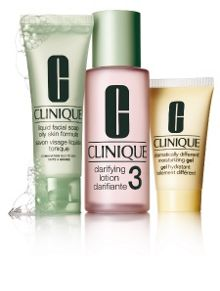 Clinique 3-Step Introduction Kit. Skin Type 3-Oily