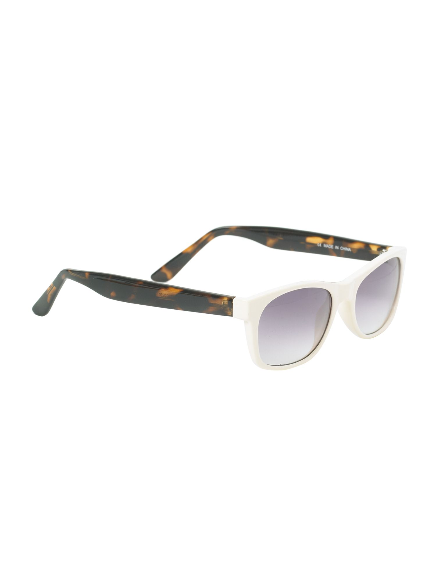 Cream wayferer sunglasses