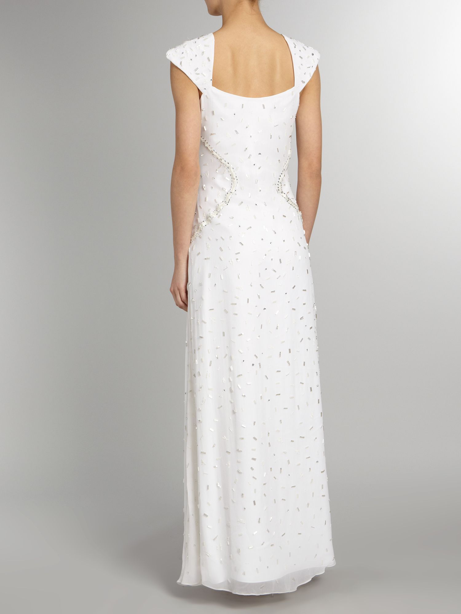 Marcela all over beaded dress