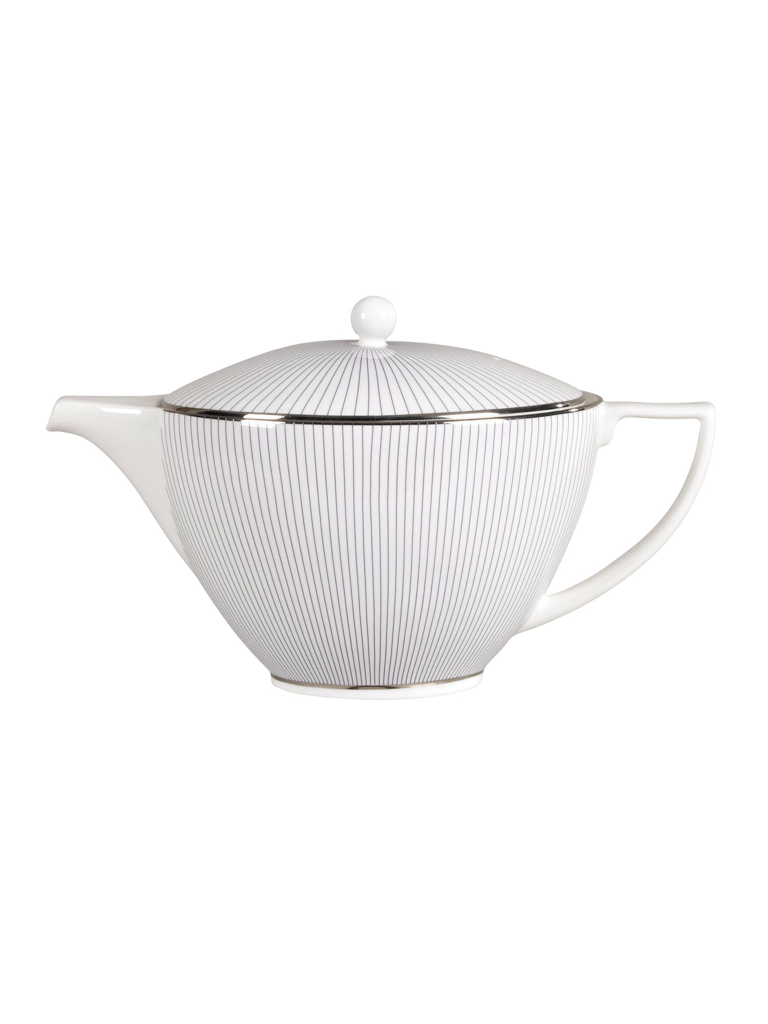 Wedgwood Pin stripe teapot.