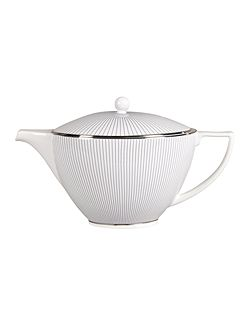 Pin stripe teapot