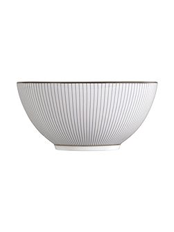Pin stripe 14cm gift bowl
