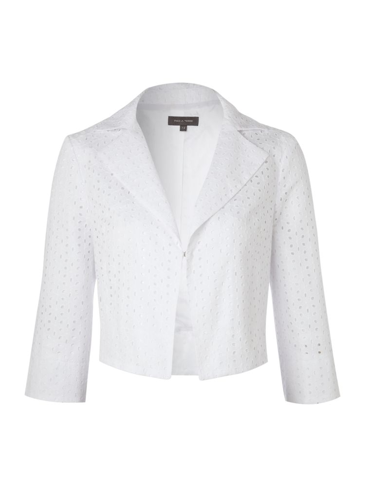 Pied-A-Terre-Broderie-Anglais-Jacket-In-White