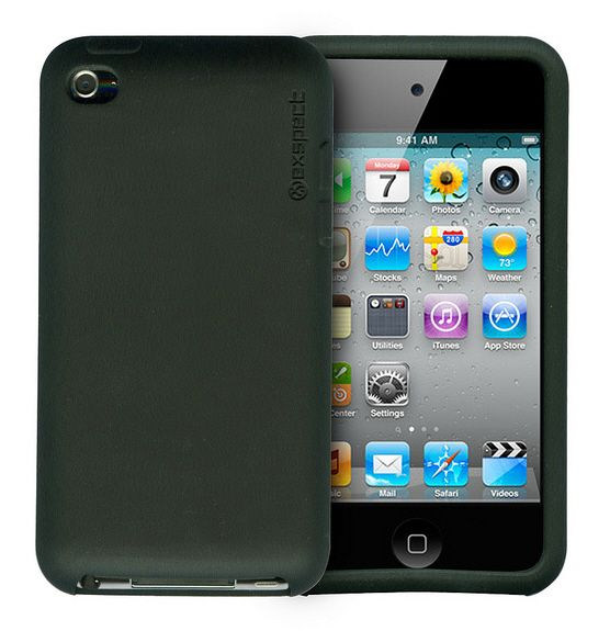 iPod Touch Skin Black by Exspect